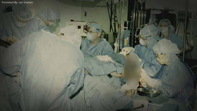 Dr. Jon Gayken surgery