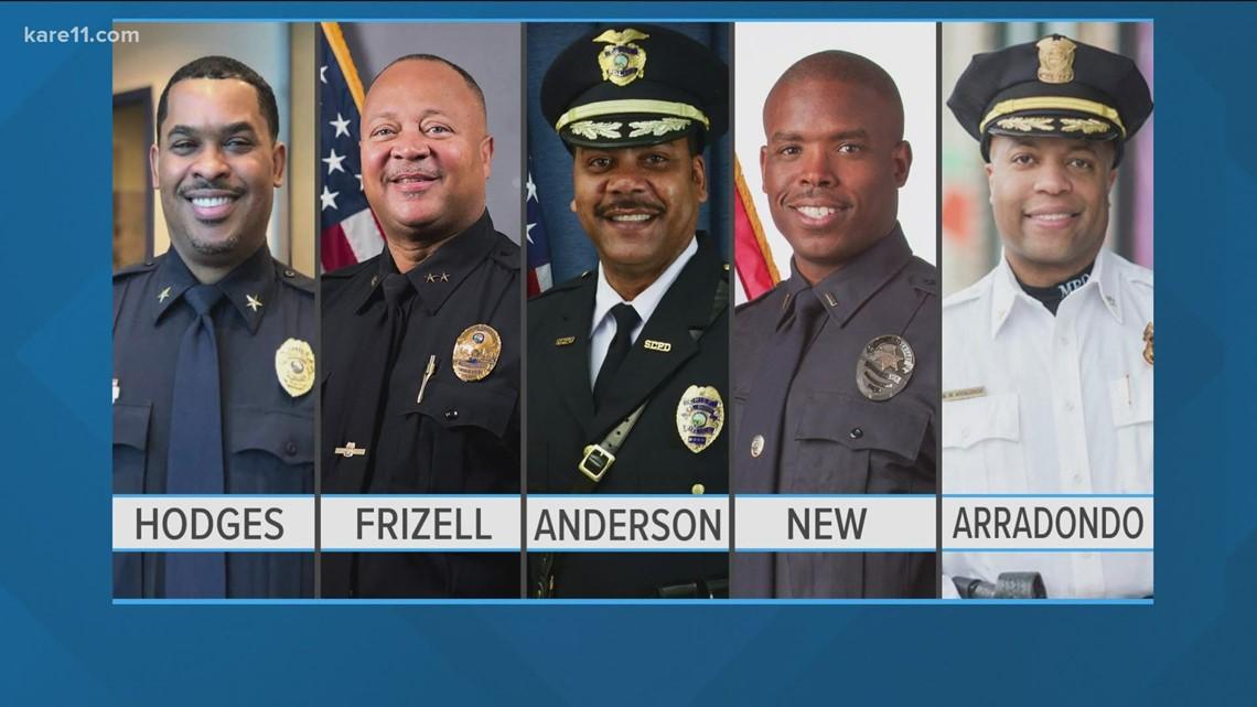 Black law enforcement leaders discussion