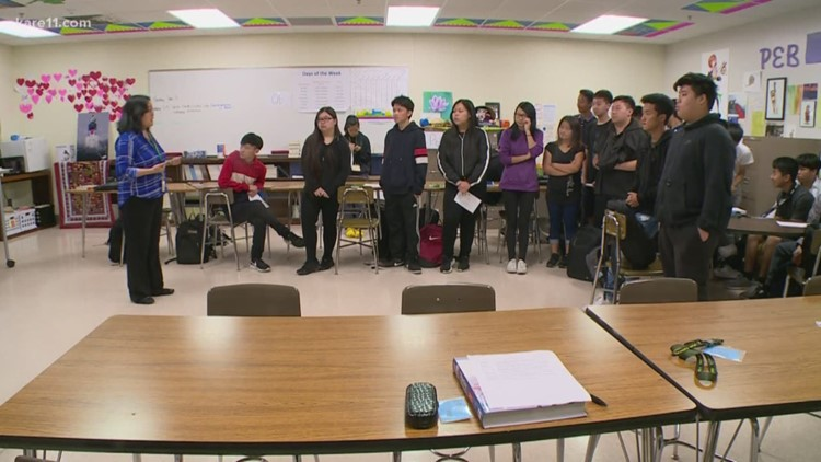 Students get to 'be themselves' in social justice classes