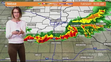 Midday weather 8-20-2019