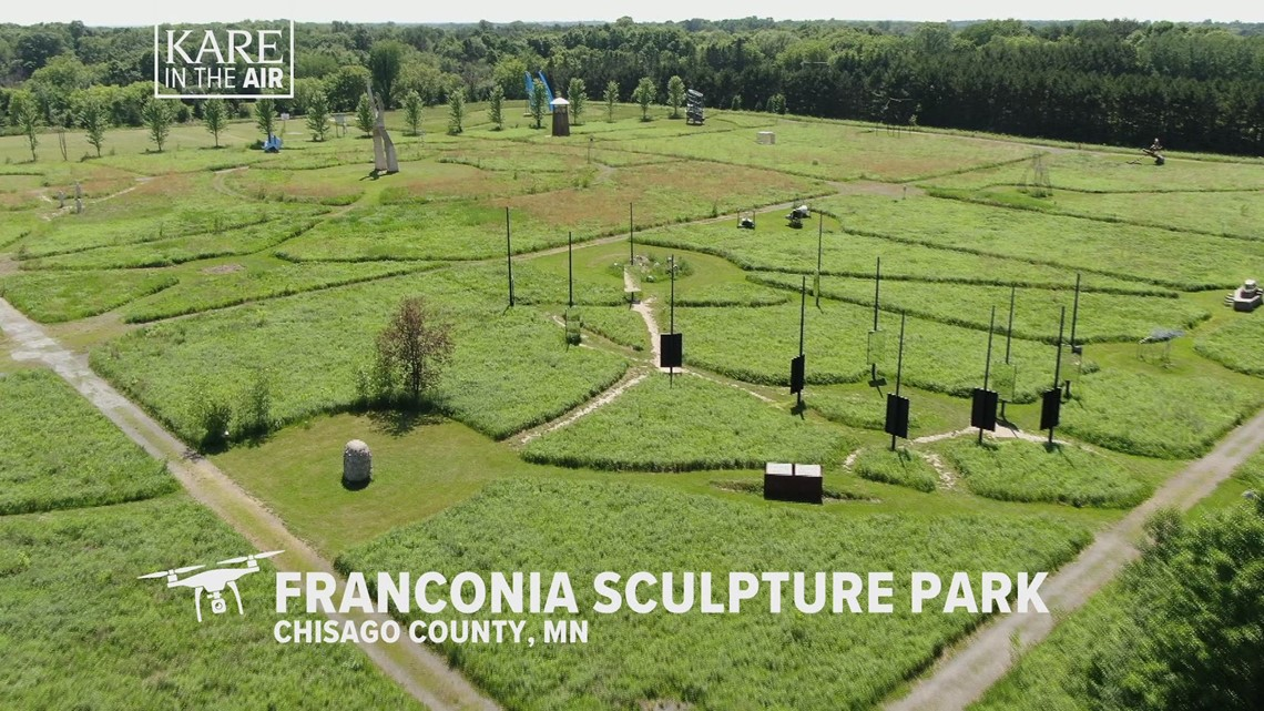 KARE in the Air: Franconia Sculpture Park