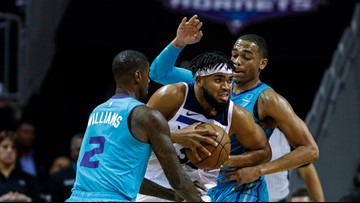 Towns scores 37 points, Timberwolves rout Hornets 121-99