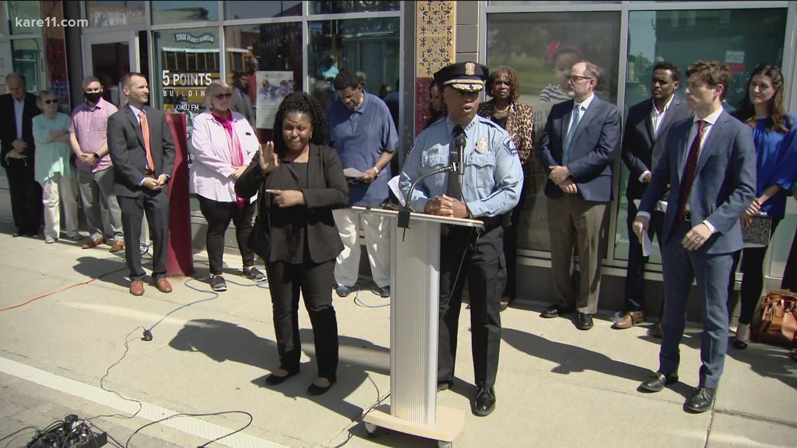 Frey, Arradondo announce new public safety model for Minneapolis