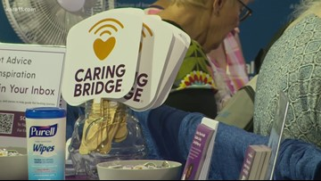 CaringBridge at Healthfair 11 is helping spread hope online