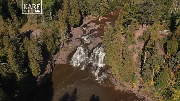 KARE in the Air: Gooseberry Falls