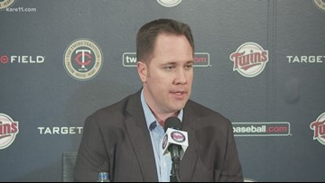 Twins Chief Baseball Officer Derek Falvey addresses Molitor firing