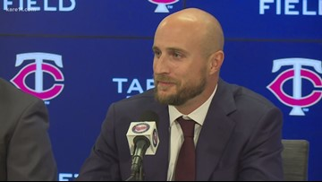 Twins name Rocco Baldelli as new manager