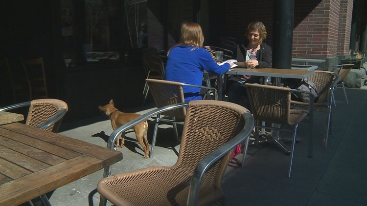 Spring Fever? Patios are out, but other businesses still getting ready