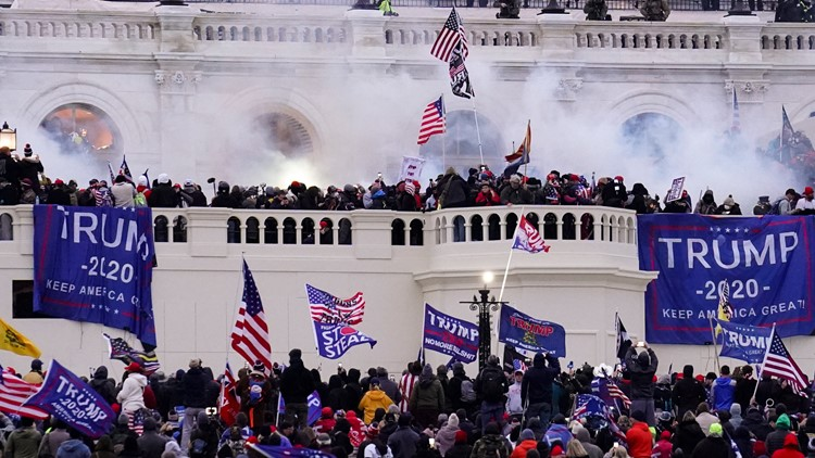 2 Minnesota men charged in U.S. Capitol insurrection
