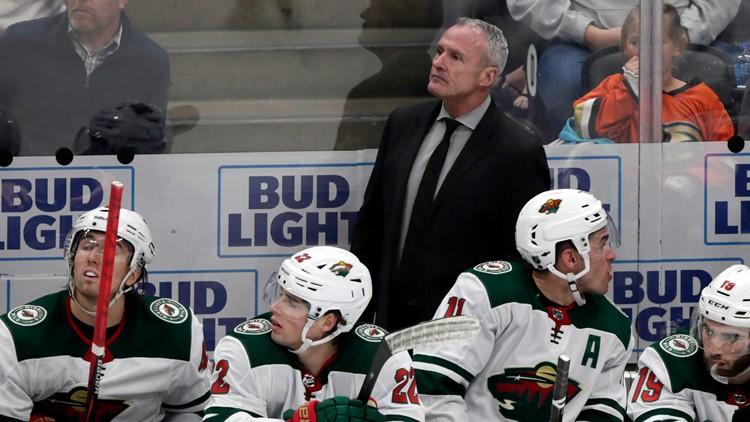 Wild head coach Dean Evason finalist for NHL coach of the year