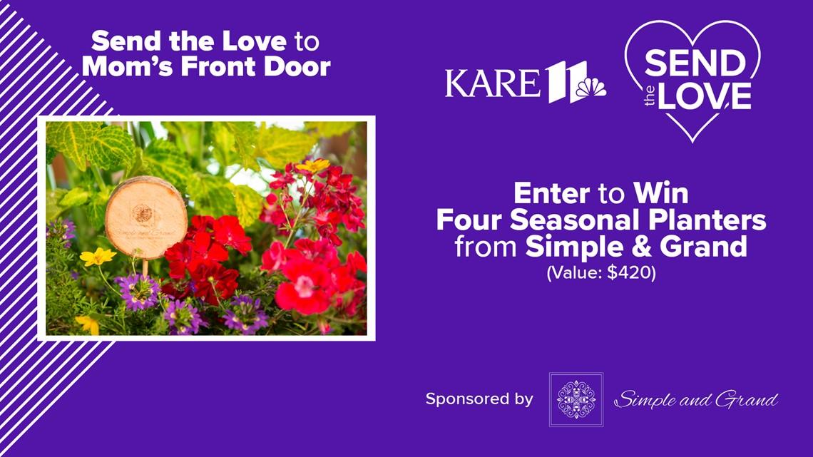 CONTEST: 'Send the Love' to Mom's front door