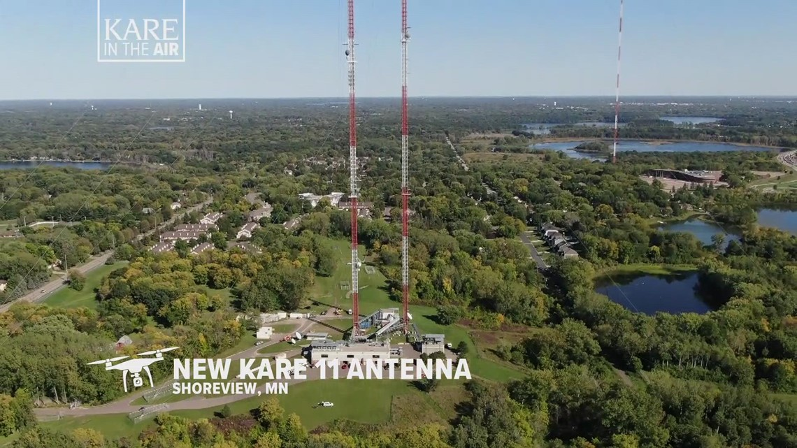 KARE in the Air: The new UHF antenna in Shoreview