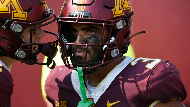 Gophers RB Trey Potts receiving medical attention in Indiana