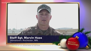 Staff Sgt. Marvin Haas