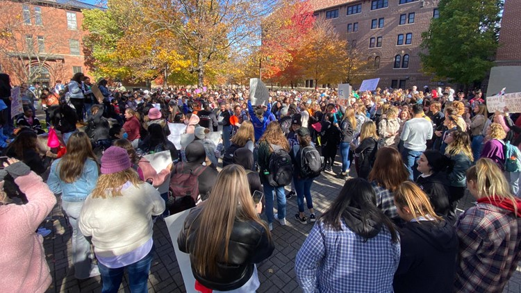 Students walk out as College of St. Benedict, St. John's Univ. investigate alleged sex competition