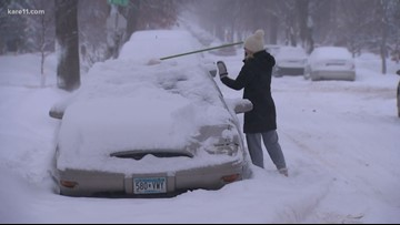 Minnesotans prepare for a blast of snow and bitter cold