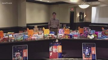 Wayzata teen's fundraiser gathers healthy food for food pantries