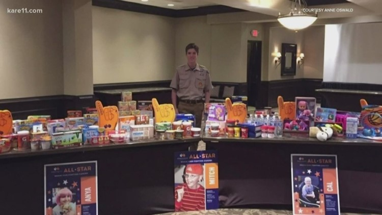 Wayzata teen's fundraiser gathers healthy food for food pantries