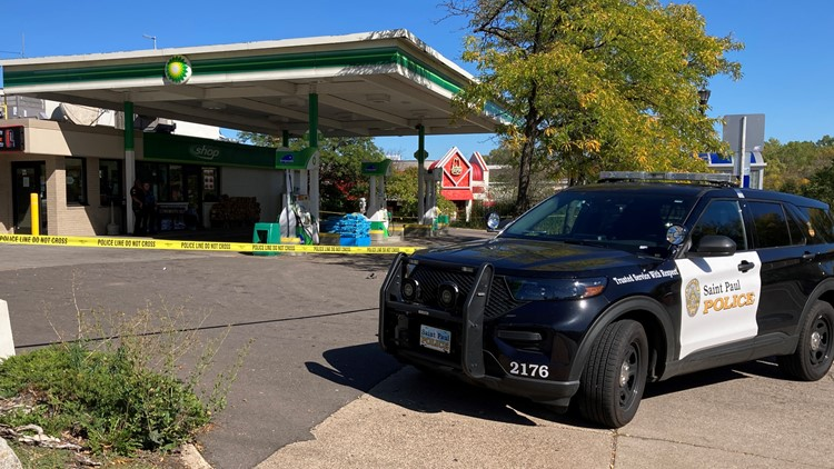 Man charged in deadly shooting at St. Paul gas station