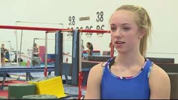 Gymnast seeks third all-around title