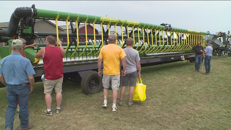 Minnesota Farmfest returns after a year off