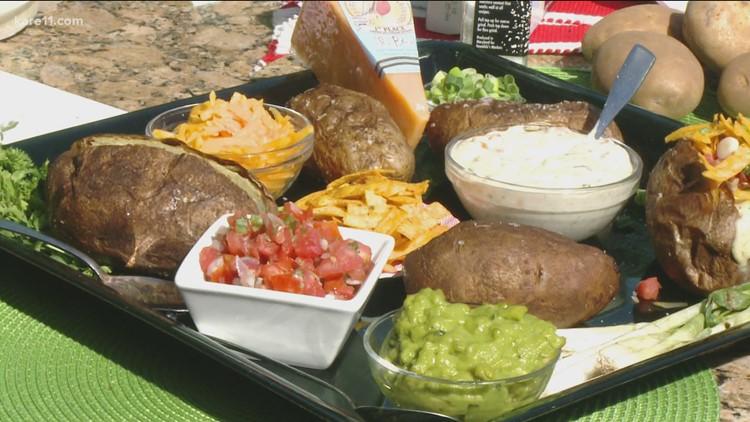 RECIPE: Steakhouse baked potatoes