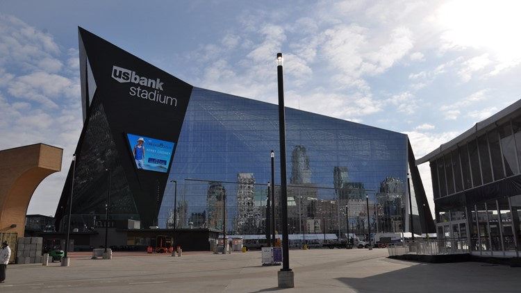 US Bank Stadium - Stock Image
