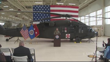 MN National Guard press conference on helicopter crash