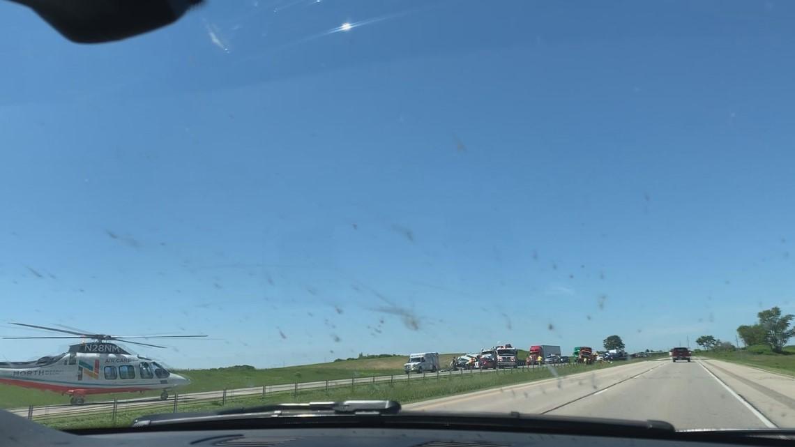 Big crash closes I-35 near Faribault | kare11 com