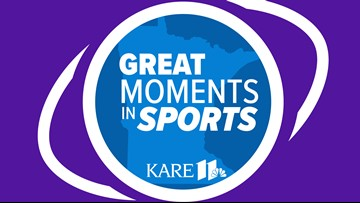 KARE 11 launches new podcast:  'Great Moments in MN Sports'