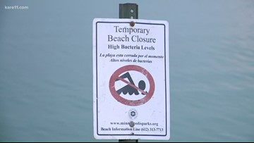 4 Minneapolis beaches now closed, at least until next week