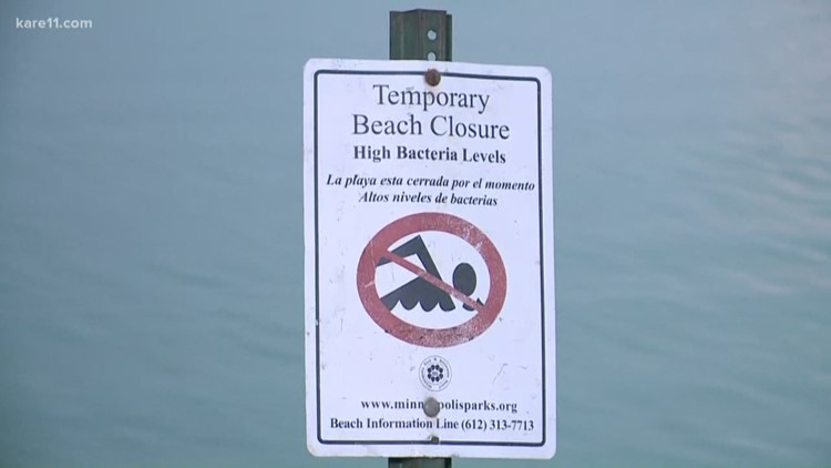 4 Minneapolis beaches to remain closed at least another week