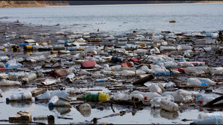 According to a 2015 study by NOAA (U.S. National Oceanic and Atmospheric Administration), about eight million metric tons of plastic enter the ocean in a typical year.