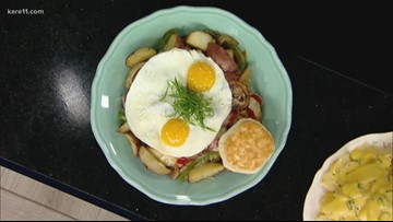 Betty Danger's Country  vegetable hash