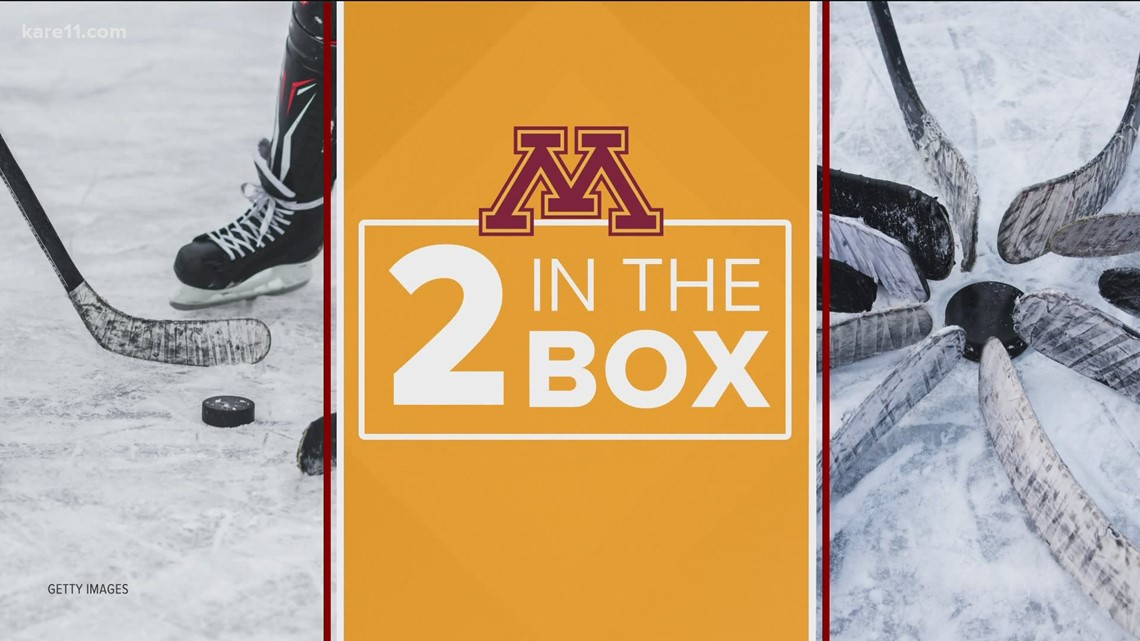 Two in the Box: Gophers hockey teammates