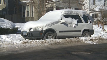 More snow means more problems for Minneapolis side streets