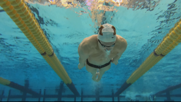 Gopher swimmer Max McHugh is taking it to the max