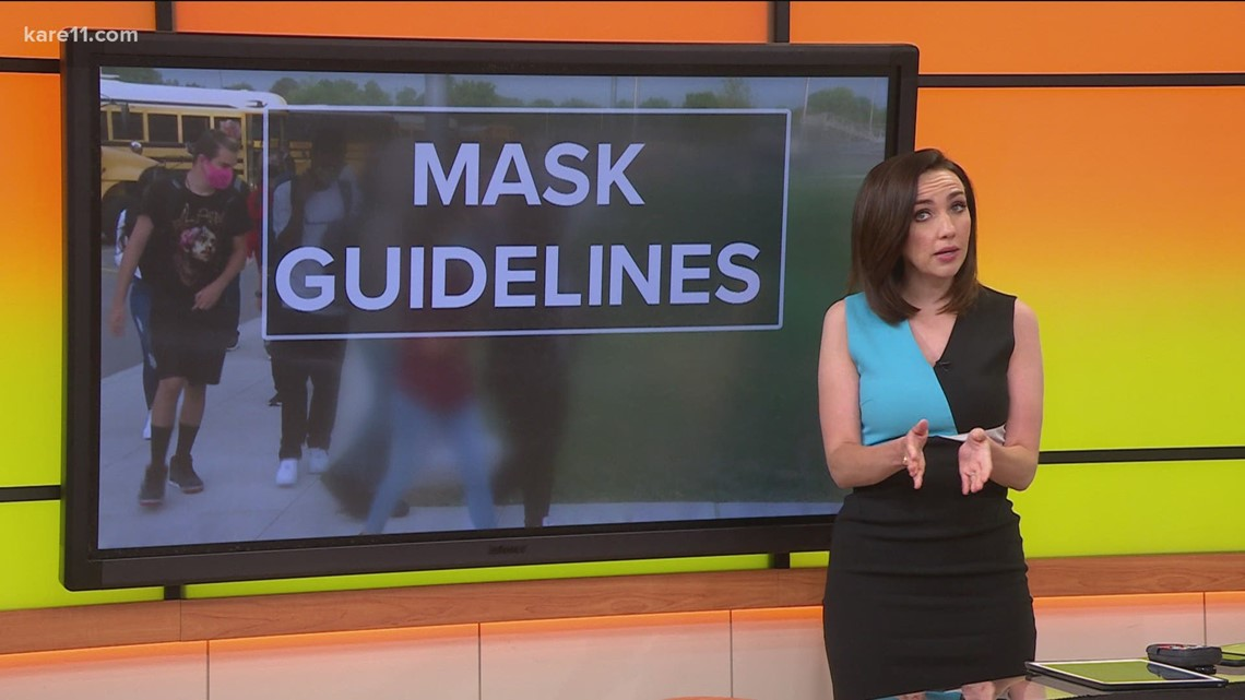 MN Dept. of Health recommends everyone wear a mask in schools this fall