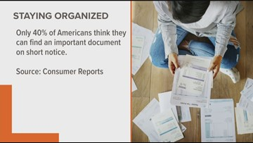 Keeping your finances organized