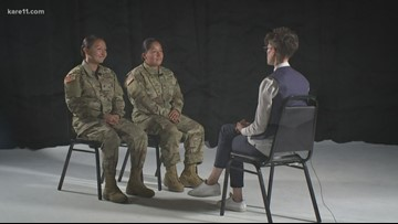 MN Nat'l Guard couple prepare to deploy at same time