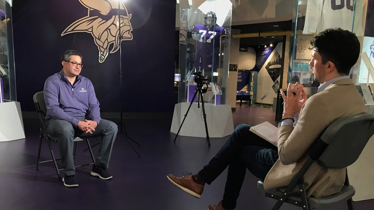 Vikings COO shares challenges with depression