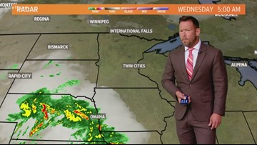 Late morning weather 8-21-2019