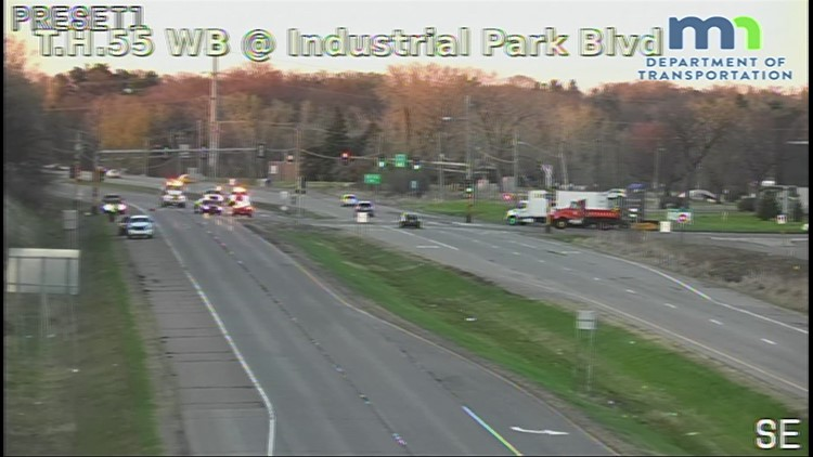 Fatal pedestrian-involved crash closes MN-55 W in Plymouth | kare11 com