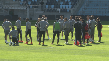 Minnesota United holds first official practice at Allianz Field