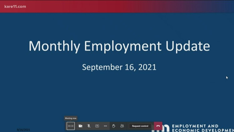 Minnesota adds jobs in August as unemployment drops