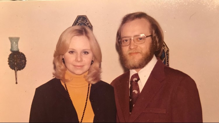 Kathy and Bob Husby in earlier days. (Photo courtesy: Bob Husby)