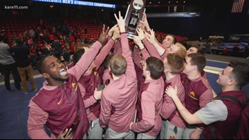 Pair of Gophers gymnasts nominated for national honor