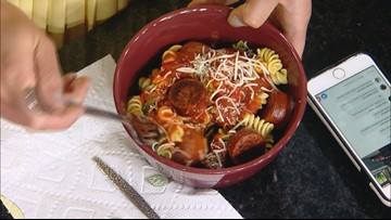 KARE in the Kitchen: Duda's Pasta Kielbasa