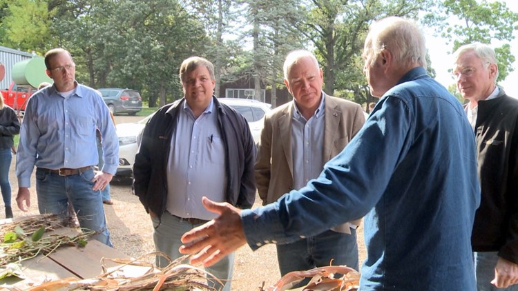 Gov. Walz pitches $10 million drought aid plan
