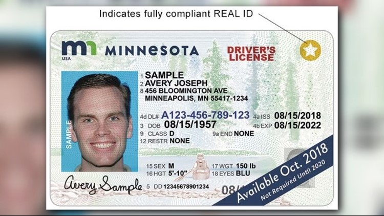 (Credit: Minnesota Department of Public Safety Driver and Vehicle Services)